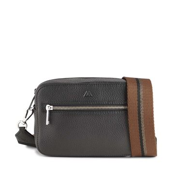 ELEA CROSSBODY BAG - GRAIN BLACK CHESTNUT COPPER